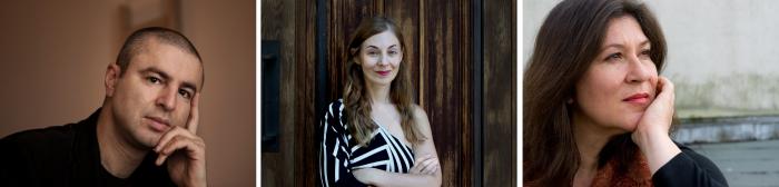 Nikola Madzirov Julia Kissina, Eva Mattes
