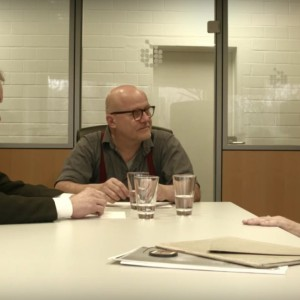 Klaus Heinz und Joachim Baur im Gespräch mit Wolfgang Georgsdorf (deutsch)