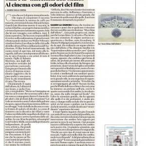 """""""Ecco de la Stampa"""":  Smeller/Osmodrama in: """"Il Fatto Quotidiano"""" (italian)"""