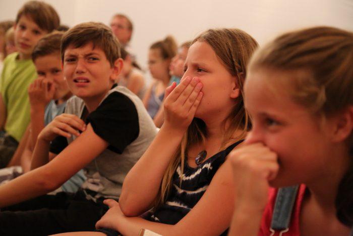Reaktion der Kinder © Merle Jothe