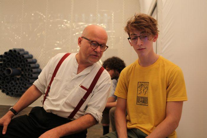 Wolfgang Georgsdorf und Assistent Kasper Helml