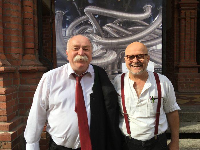 Wolfgang Georgsdorf (Osmodrama) und Prof. Dr. Thomas Hummel (Institut für Riechen und Schmecken, Uniklinikum Dresden)