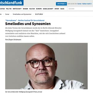 """""""Smellodies und Synosmien"""" in: Deutschlandfunk (german)"""