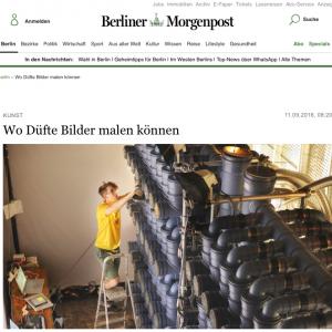 """""""Wo Düfte Bilder malen können"""" in: Berliner Morgenpost (german)"""