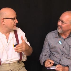 Simon Niedenthalim Gespräch mit Wolfgang Georgsdorf (englisch)