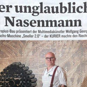 """""""Der unglaubliche Nasenmann"""" in: Berliner Kurier (german)"""