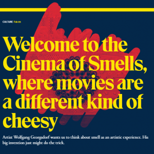 Welcome to the Cinema of Smells (english)